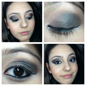 Used too faced matte eyes the fashion section but using Macs club eyeshadow on top at the outer corner