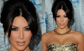 Kim Kardashian Natural Holiday Makeup Tutorial
