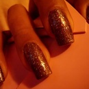 Wet 'N Wild Cocoa Shimma + Sinful Colors: Pinky Glitter