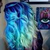 Ombré blue