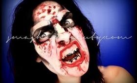 The Walking Dead Zombie Makeup Tutorial Halloween 2012
