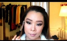 Dark Smoky Eye Makeup for Monolids