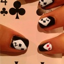 Poker Nail Design