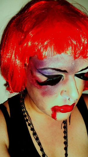 Character/ Themed Makeup Pretty Raver Junky [overdose] 2010
