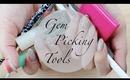♡ Gem Picking Tools | Nail Art
