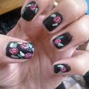 Dark Roses Nail