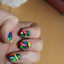 Neon nails
