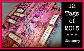 Tim Holtz - 12 Tags of 2015 - January
