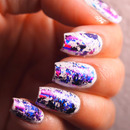 Pink And Purple Foil