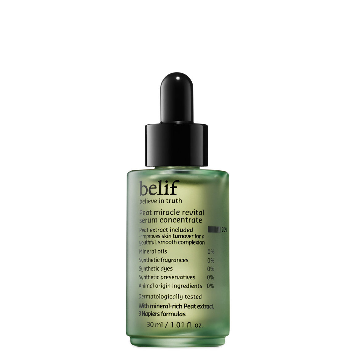 belif Peat Miracle Revital Serum Concentrate alternative view 1 - product swatch.