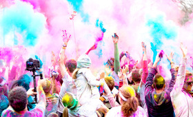 The Happiest 5K on Earth: The Color Run, San Francisco!
