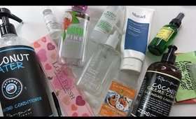 February 2018 Empties!! | Too Faced, Renpure, Murad, AND MORE!!