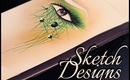 Make-up sketch types.Figuring out your make-up design. PART ONE