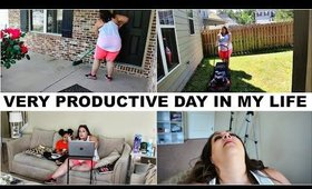 YARD WORK  IS HARD | VERY PRODUCTIVE DAY IN MY LIFE | ISOLATION VLOG