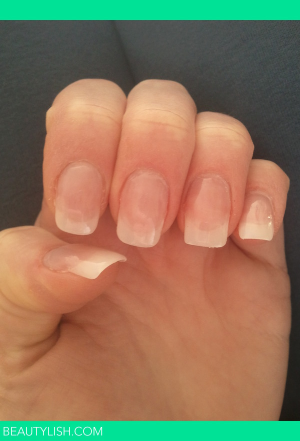 Natural acrylic nails. | Charlotte S.\'s Photo | Beautylish