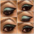 Teal eyes!