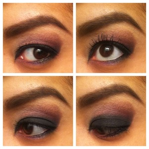 sultry smokey eye with smashbox, laura mercier, and bobbi brown products