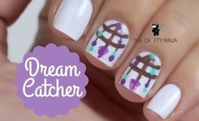 Dream Catcher Nail Tutorial by The Crafty Ninja