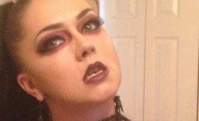 Halloween Gothic Vampire Tutorial