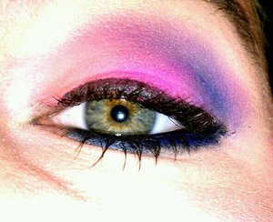 pink blue and purple