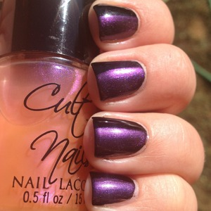 From Cult Nails. This is shown over black.