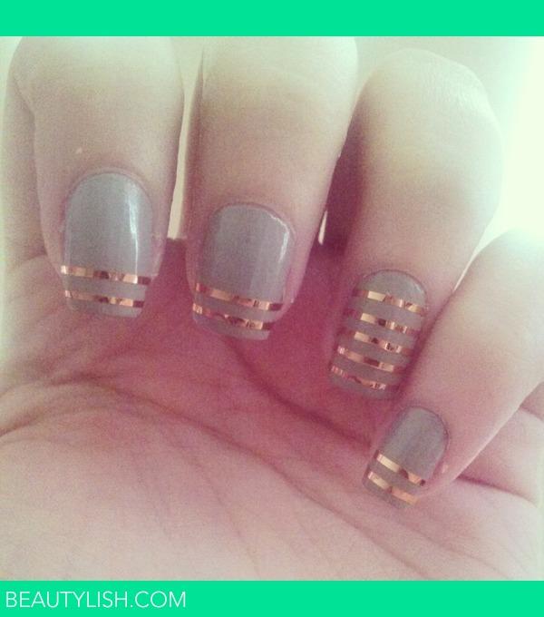 Nail tape stripe design melanie bs meltamara photo beautylish prinsesfo Gallery