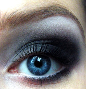 Black Smokey Eye from Little Red Riding Hood Makeup Look :)