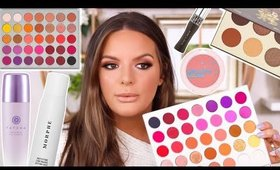 STEP BY STEP MAKEUP TUTORIAL WITH SOME NEW PRODUCTS! | Casey Holmes