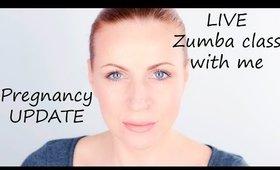 31th Week Pregnancy Update (Bonus: Live from my Zumba class)