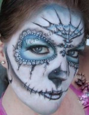 Fancy Sugar Skull Ms VersZsatile