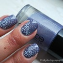 Catrice Dirty Berry + stamping