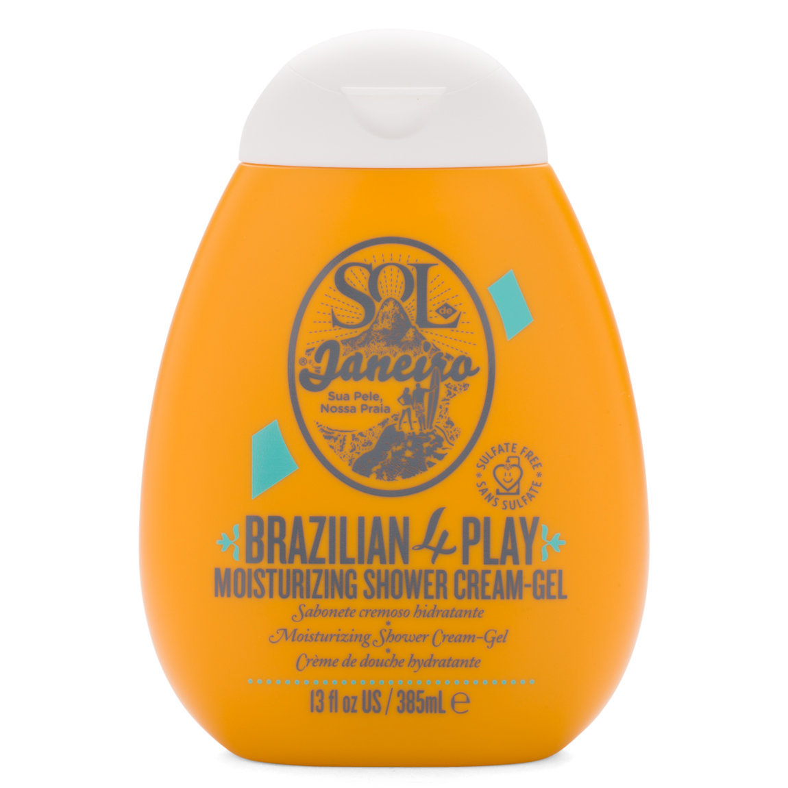 Sol de Janeiro Brazilian 4 Play Moisturizing Shower Cream-Gel 13 fl oz alternative view 1.
