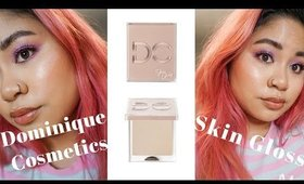 Dominique Cosmetics Skin Gloss REVIEW and Comparison to Similar Products | Victoria Briana