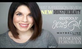 New Drugstore Beauty 1st Impression Review | Jesse's Girl + Physician's Formula + EcoTools