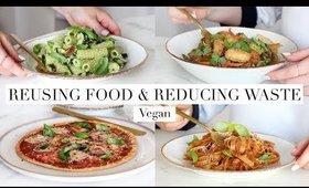 Reusing Leftovers & Reducing Food Waste (Vegan) AD   JessBeautician