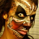 Predator Face Paint