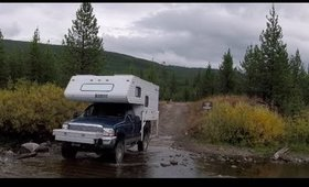 Truck Camper LIfe: Ep 21    Stranded in the Mountains... Again! - Grand Tetons NP
