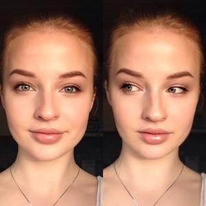 My natural makeup! :)