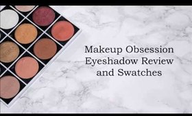 Makeup Obsession Eyeshadow Swatches| Life's Little Dream