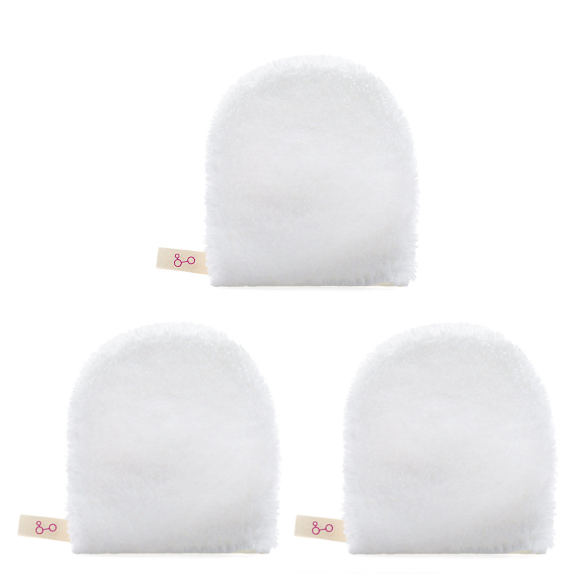 Good Molecules Facial Cleansing Mitt Trio alternative view 1 - product swatch.
