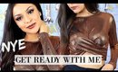 New Years Eve GRWM | Makeup, Hair & Outfit - TrinaDuhra