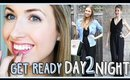 Get Ready with Me || Day to Night Jumpsuit!