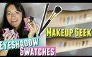 Makeup Geek Eyshadow Swatches, Foiled Eyeshadow Swatches Makeup Geek