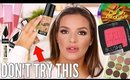 HOT NEW DRUGSTORE PRODUCTS TESTED SOME HITS AND A HUGE MISS  | Casey Holmes