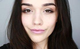 Subtle daytime eye makeup