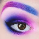 Pink Purple Blue Ombre
