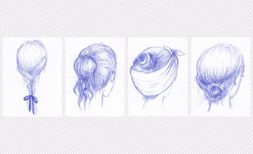 4 Hairstyles for a Rainy Day