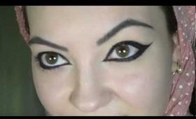#29 Big eyeliner tutorial