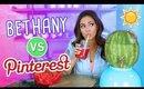 Trying Summer DIY's | Pinterest VS. Bethany