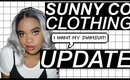 WHEN AM I GETTING MY SWIMSUIT? @sunnycoclothing update